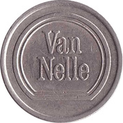 Advertising Token - Van Nelle – obverse