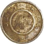 Jeton Prime - AF (inscribed both sides) – reverse