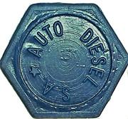 Token - Auto Diesel S.A. (hexagonal) – obverse