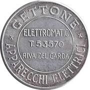 Token - Gettone Apparecchi Elettrici (Elettromatic, Riva del Garda) – obverse