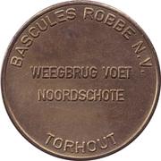 Token - Bascules Robbe N.V. – obverse