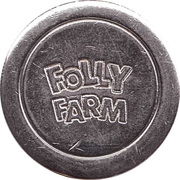 1 Token -  Folly Farm (Pembrokeshire) – obverse