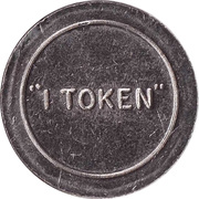 1 Token -  Folly Farm (Pembrokeshire) – reverse