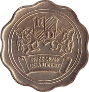 Token - Reader's Digest (Prize Draw Department) – reverse