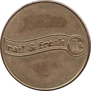 Token - Rail & fresh WC – obverse