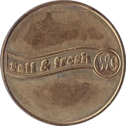 Token - Rail & fresh WC – reverse