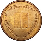 Token - The State of Exit (Pause) – obverse