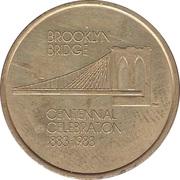 Token - Brooklyn Bridge (The Eighth Wonder) – obverse