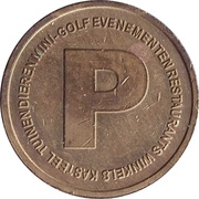 Parking Token - Kasteeltuinen Arcen – obverse