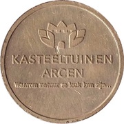 Parking Token - Kasteeltuinen Arcen – reverse
