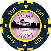 Casino Token - Roma (100) -  reverse