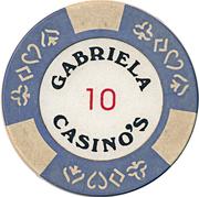 Casino Token - Gabriela (10) – reverse