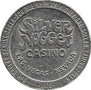 1 Dollar Gaming Token - Silver Nugget Casino (Las Vegas) – obverse