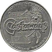 1 Dollar Gaming Token - Castaways Hotel (Las Vegas, Nevada) – obverse
