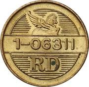 Token - Reader's Digest (RD 1-06311; Brass) – reverse