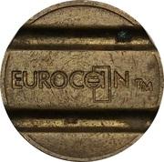 Token - Eurocoin (Peter Arnett Leisure Organisation) – reverse