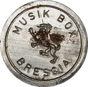 Juke Box Token - Musik box Brescia – obverse