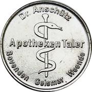 Apotheken Taler - Burg-Apotheke & Apotheke in Geismar & Apotheke an den Lieth Lenglern & Apotheke B27 (Bovenden, Geismar, Weende) – reverse