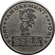 Amusement Token - Sega – reverse