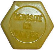 Token - Viação N.S. da Penha Ltda (hexagonal) – reverse