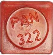 Token - PAN 322 (square; long letter) – obverse