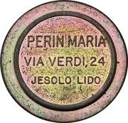 Token - Perin Maria (Lido di Jesolo, Venezia) – obverse