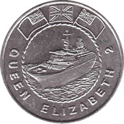25 Cents - Mayfair Maritime (Queen Elizabeth 2) – obverse