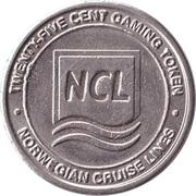 Game Token - NCL (Norwegian Cruise Lines) – obverse