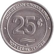 Game Token - NCL (Norwegian Cruise Lines) – reverse