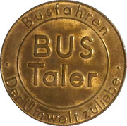 Bus Token - Reutlingen – obverse