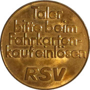 Bus Token - Reutlingen – reverse