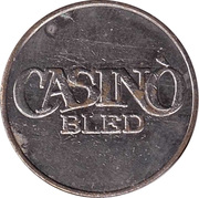 Game Token - Casino Bled – obverse