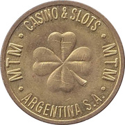 Game Token - MTM Casino & Slots Argentina S.A. – obverse