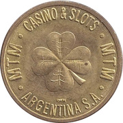 Game Token - MTM Casino & Slots Argentina S.A. – reverse