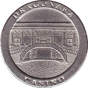 Game Token - Dragonara Casino – obverse
