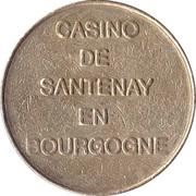 2 Francs - Casino de Santenay en Bourgogne – obverse