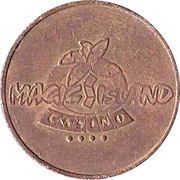Game Token - Magic Island Casino – obverse