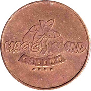 Game Token - Magic Island Casino – reverse
