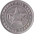 25 Cent Gaming Token - Casino Hollywood (St. Maarten) – obverse