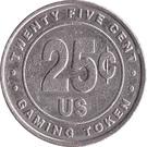 25 Cent Gaming Token - Casino Hollywood (St. Maarten) – reverse