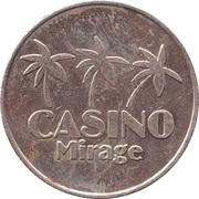 Game Token - Casino Mirage – reverse