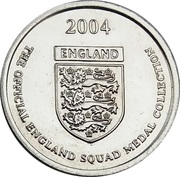 Token - Official England Squad 2004 (Michael Owen) – reverse