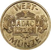 Token - ADAC Munze – reverse