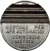 Token - Gettone Apparecchi Automatici (002; 25 mm) – obverse