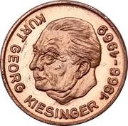 Token - Bundeskanzler der Bundesrepublik Deutschland (Kurt Georg Kiesinger) – obverse
