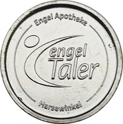Engel Taler - Engel Apotheke (Harsewinkel) – reverse