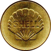 Shell Token - Man In Flight (Leonardo Da Vinci) -  reverse