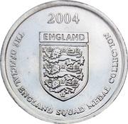 Token - Official England Squad 2004 (Sven-Göran Eriksson) – reverse
