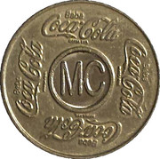 Vending Machine Token - Coca-Cola (MC - Maceió) – obverse