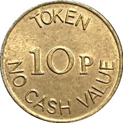 10 Pence - The Noble Orgatisation Ltd. – reverse